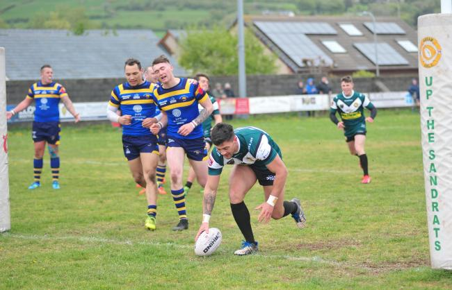 Kris Tyson was one of Askam's try scorers