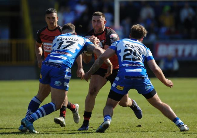 Josh Johnson often played through the pain barrier for Barrow Raiders