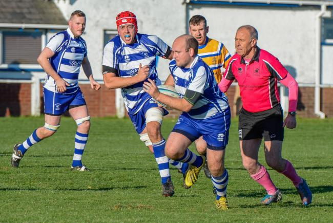 ON THE CHARGE: Millom open at home to Workington