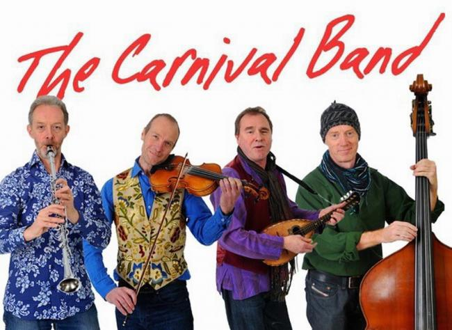 The Carnival Band mix and match their collection of more than 20 instruments, adding vocal harmony to create an astonishing range of sounds