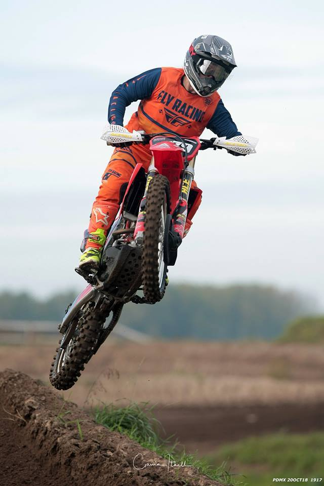 Barrow's DeeJay Walker at the Preston Docks track. Picture: Gavin Ithell