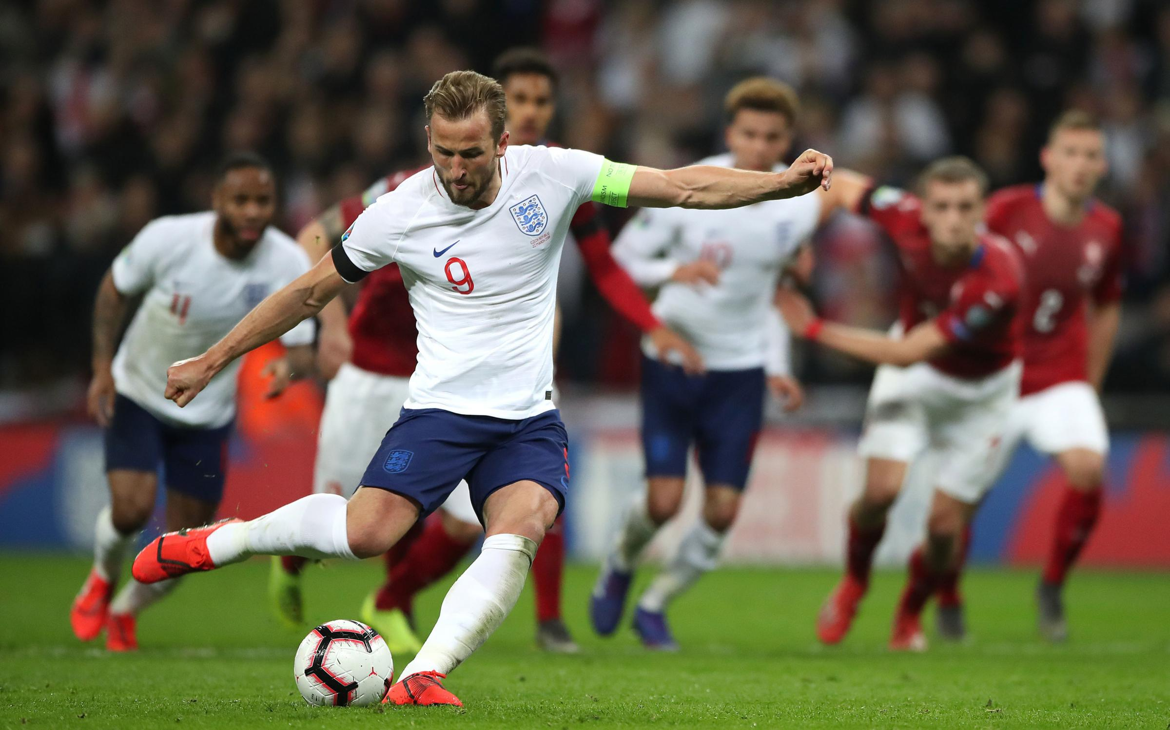 England captain Harry Kane could play in the Champions League final for Tottenham