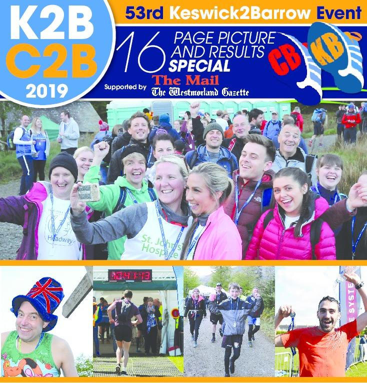 K2B/C2B 2019 Results: Where you finished   The Mail