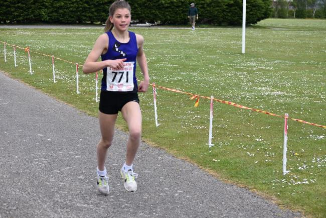 Olesia Winder won the women's race for Leven Valley