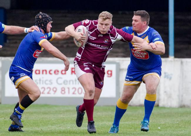 Millom stuck 50 points past Ulverston in the Barton Townley Cup final last week