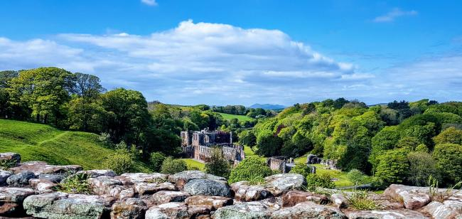 HISTORY: Furness Abbey from the Amphitheatre by The Mail Camera Club member Stuart Mackin