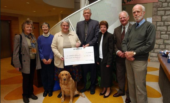 RESULT Leven Valley Support Group raised £750 for St Mary's Hospice from a Greenodd fashion show in October 2003.