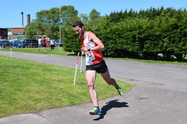 Matt Elkington finished 31 second outside Lloyd Taggart's course record