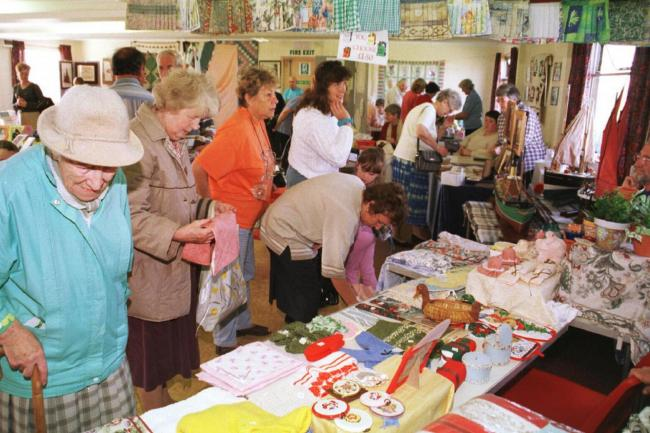 EVENT The North Scale Residents' Association craft show in September 1999.