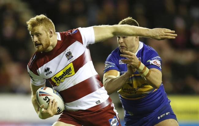 Wigan Warriors' Joe Bullock