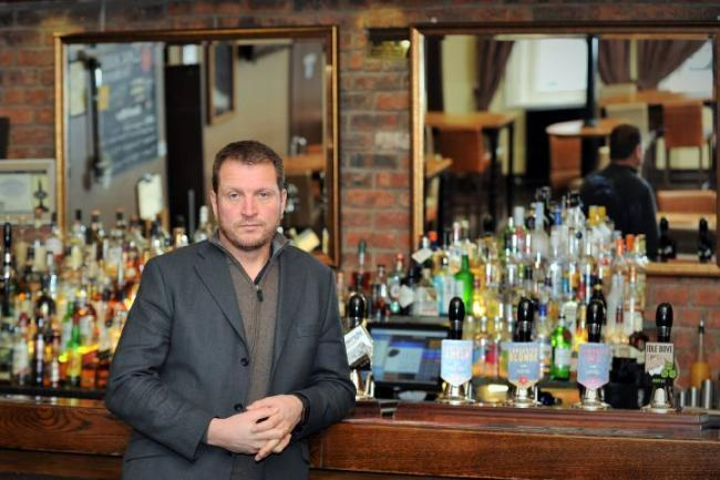 Concerns: Lancaster Brewery director Phil Simpson at The Duke of Edinburgh hotel