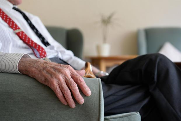 File photo dated 18/05/17 of an elderly man. Record numbers of people over the age of 70 are deciding against retirement and continue to work, a new study suggests. PRESS ASSOCIATION Photo. Issue date: Monday May 27, 2019. Research by jobs site Rest Less