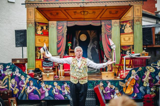 RETURN: Mr Alexander and his travelling show is returning to Another Fine Fest this weekend. 